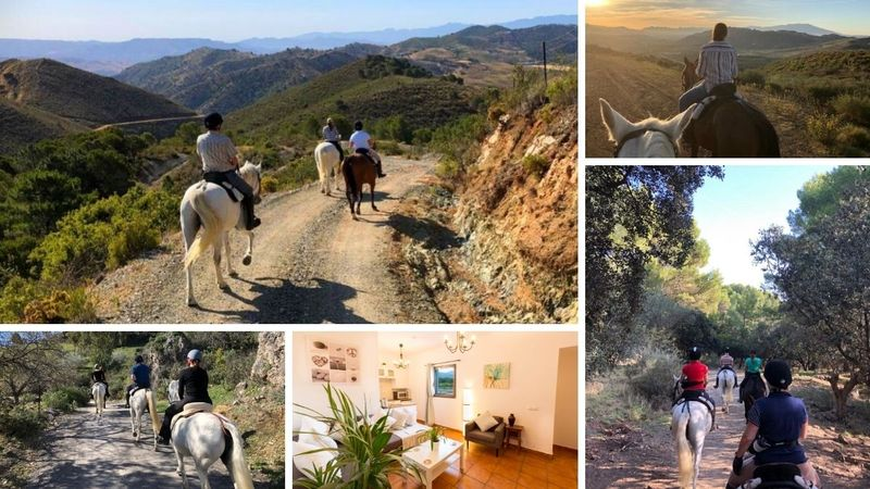 luxury horse riding holiday in andalusia, spain