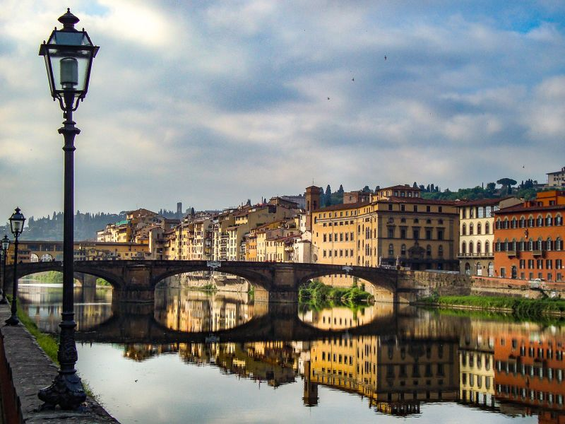 florence italy photography of street view