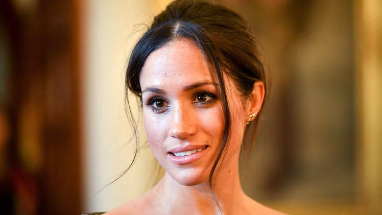 meghan markle face close-up