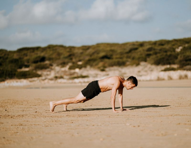pushups-surf-training