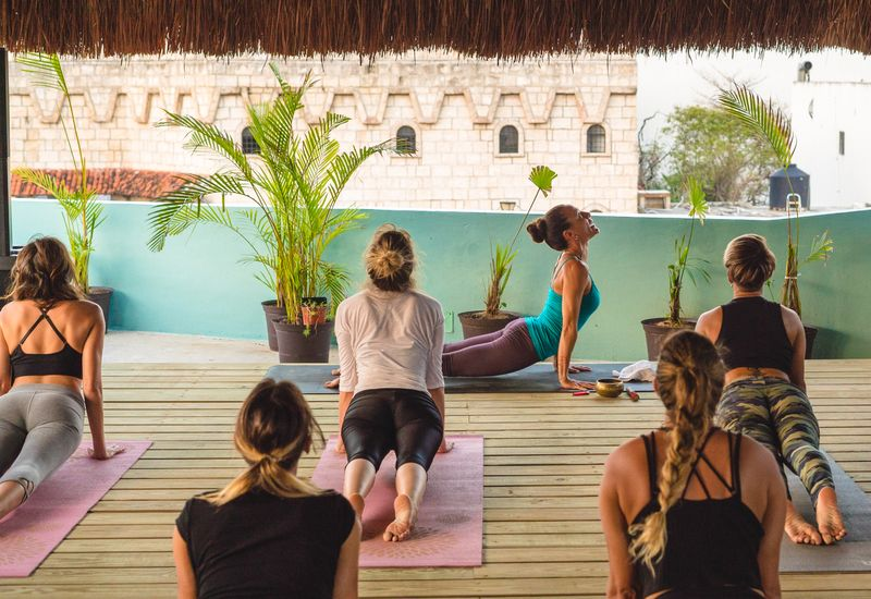 detox and yoga in mexico city
