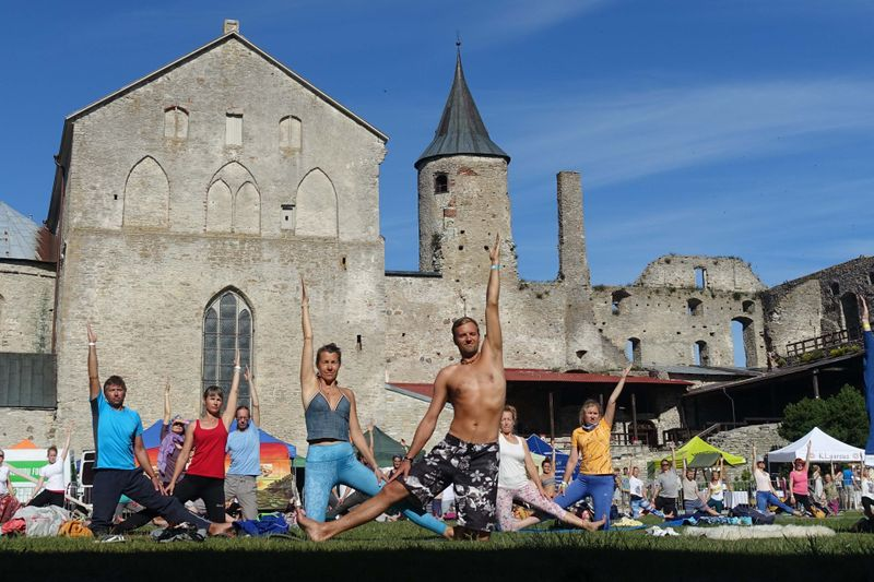 talinn estonia yoga festival