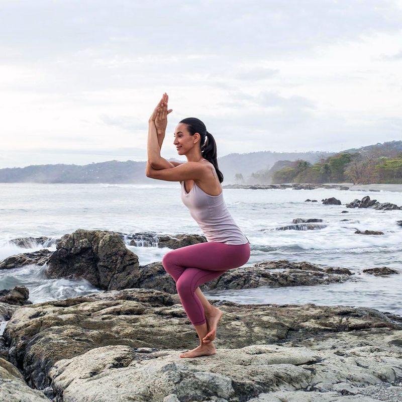 Intermediate yoga retreat