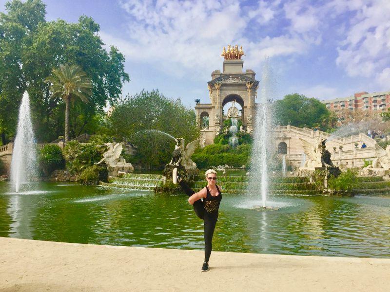 parc ciutadella fountain