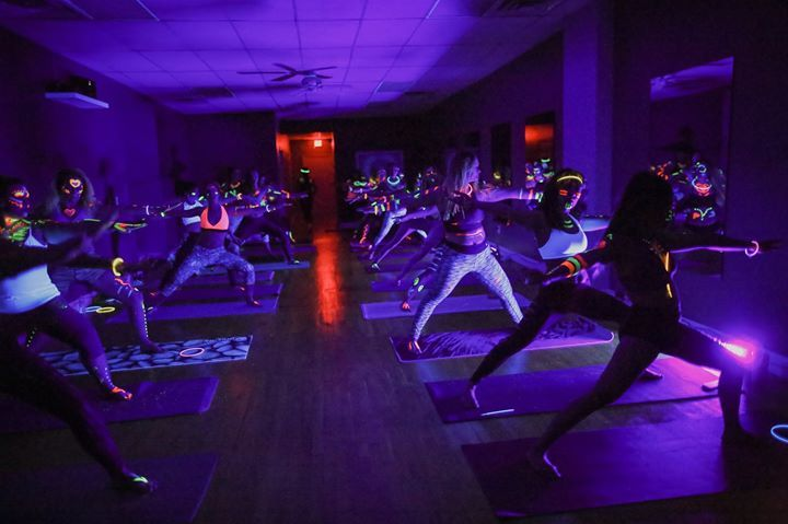 buti yoga glow in the dark