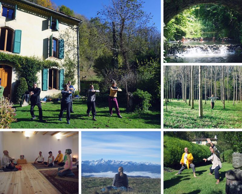 yoga retreat in Southern France