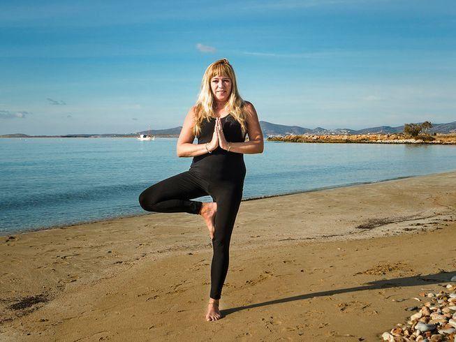 yoga retreat in paros