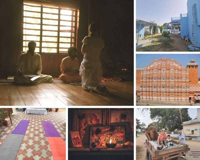 7 Day Yoga Holiday and Cookery Classes in Rajasthan