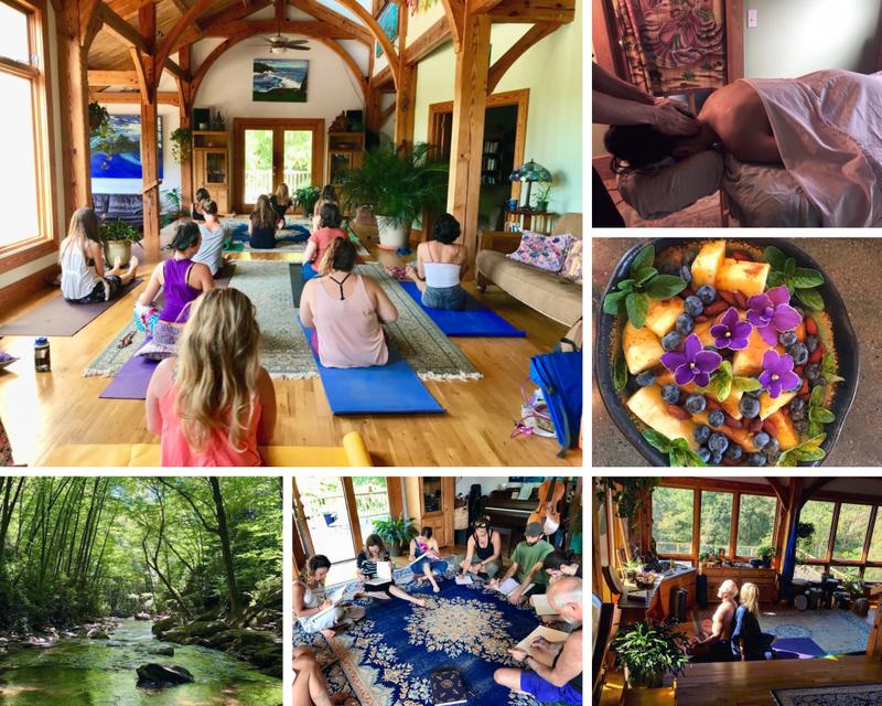 yoga retreat in Virginia
