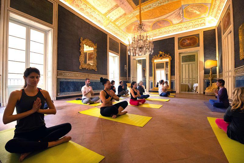 yoga in Palermo