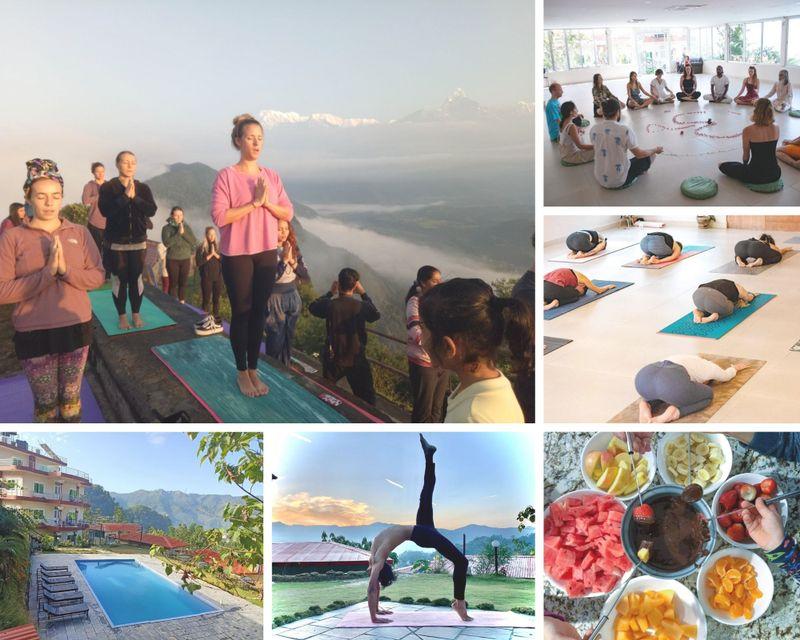 22 day 200-hour multi-style yoga teacher training in pokhara
