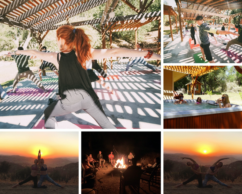 yoga retreat in Santa Ysabel