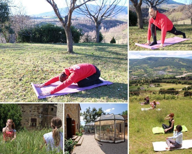 meditation and yoga at an italian monastery in la marche