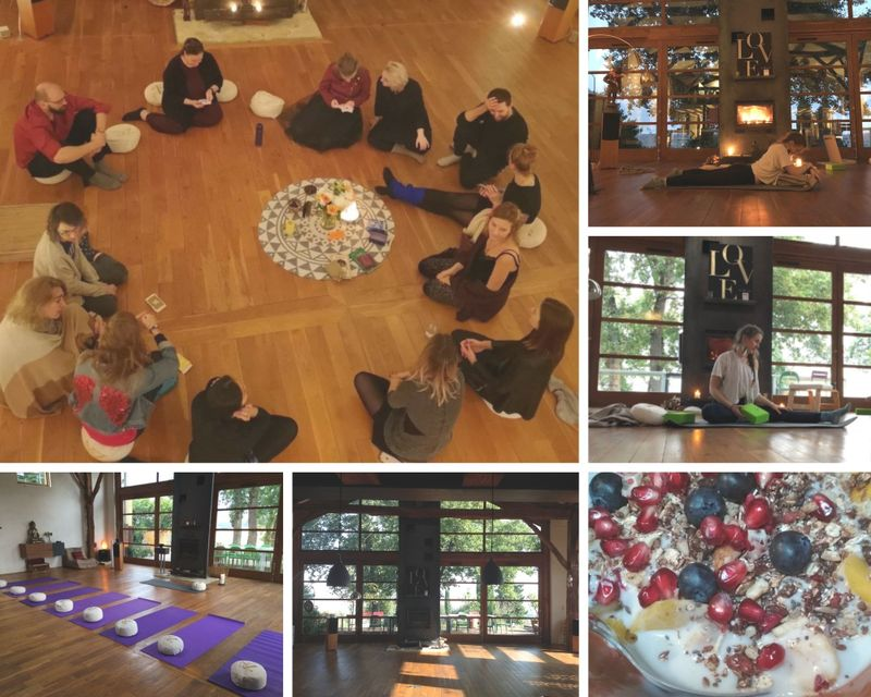 yoga and meditation retreat in france