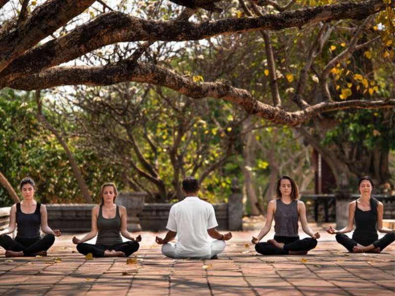Attend an in-person retreat