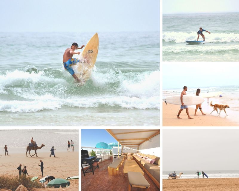 8 Day Beginner and Intermediate Surf Camp in the Best and Famous Surf Spots of Tamraght