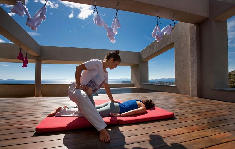 greece marathon yoga resort
