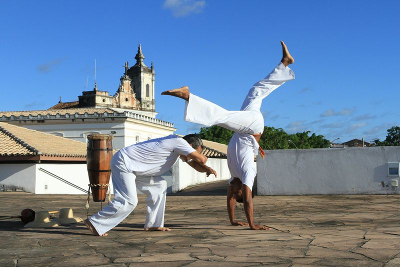 capoeira fighters brazil