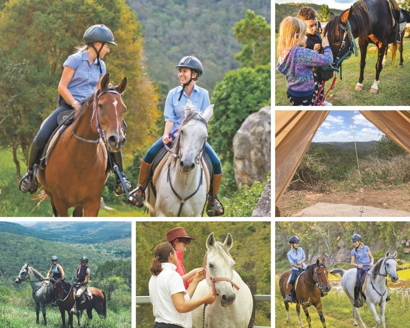 Queensland horse riding holiday