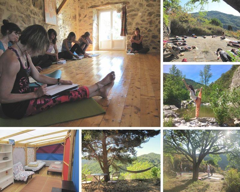 affordable yoga teacher training in europe - 60 days 500 hour YTT in France
