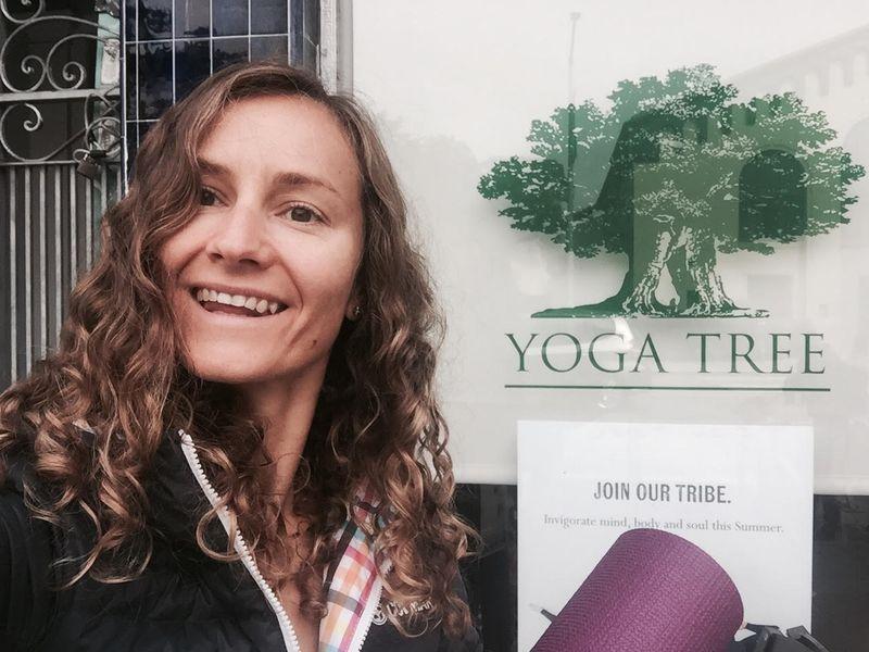 yin yoga class
