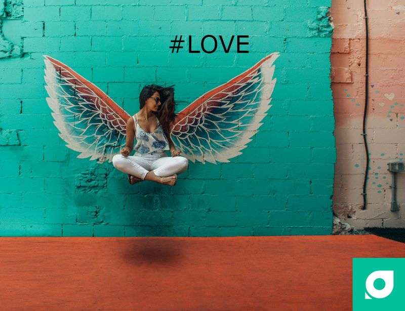 love hashtag for yoga practice by tripaneer