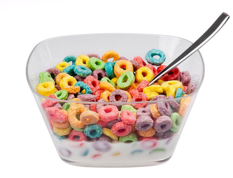 fruit loops for breakfast
