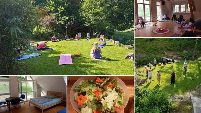 yoga and meditation in the black forest