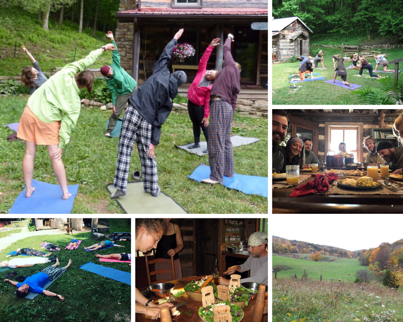 yoga retreat in Virginia