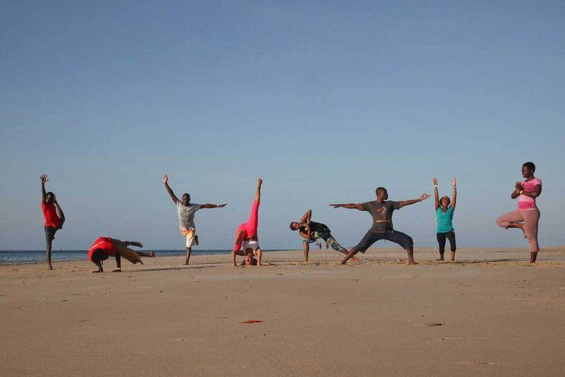 yoga festival activities