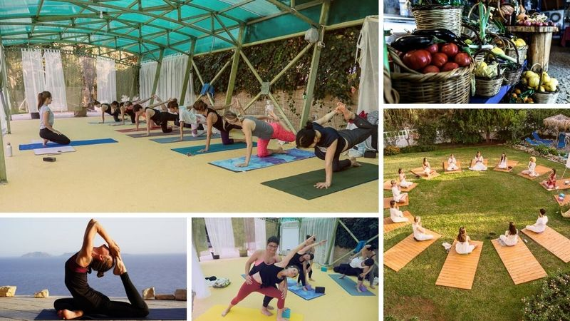 vinyasa flow and ashtanga ytt in corfu
