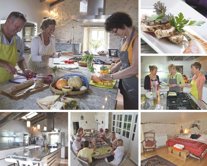 luxury gourmet cooking holidays in south-west france