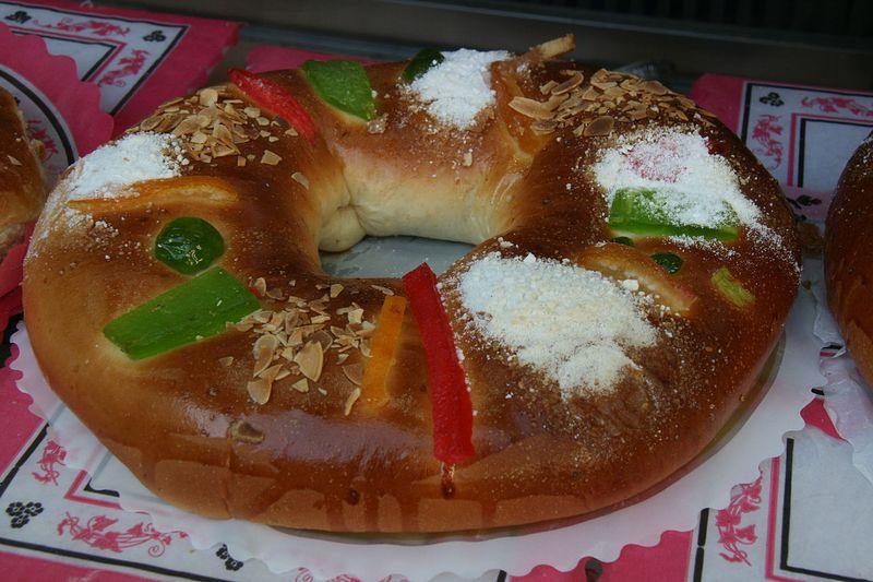 Roscón de Reyes - eaten on Epiphany