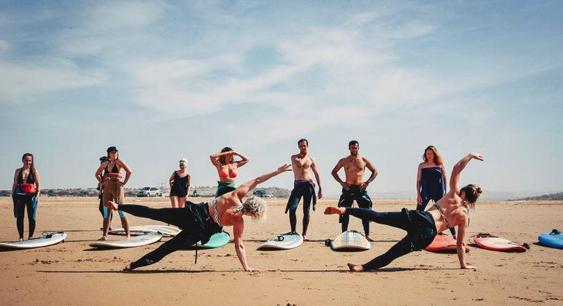 yoga retreat in sidi kaouki