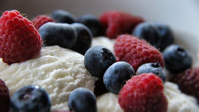 berries before yoga