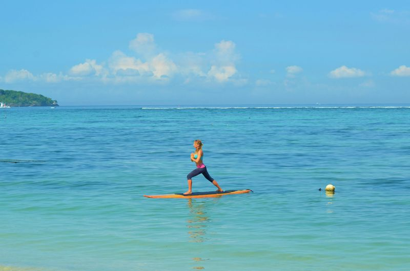yoga retreat in ragusa italy sup paddle