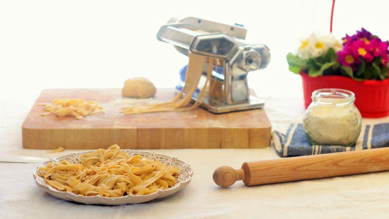 fresh pasta in italy