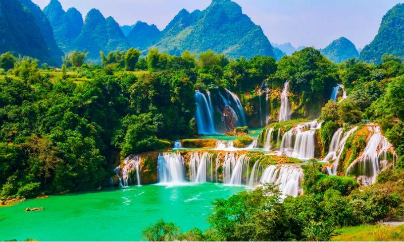 Ban Gioc-Detian Falls Vietnam Travel