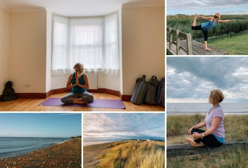 Finding Space Yoga Retreat in West Norfolk Coast, England