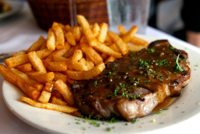 Steak Frites in France
