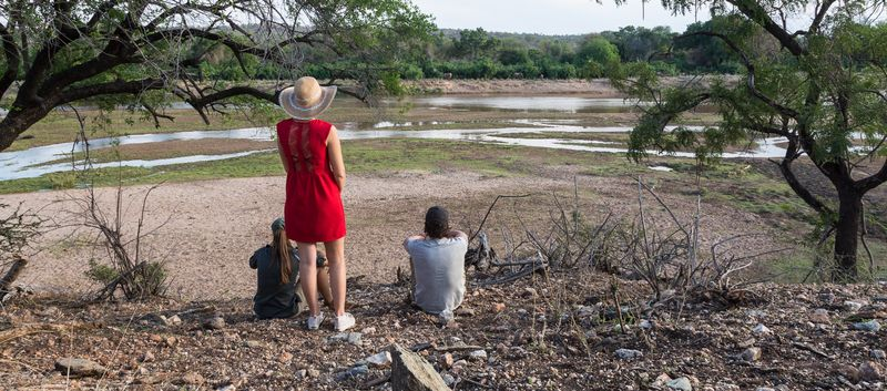 by the river in kruger park