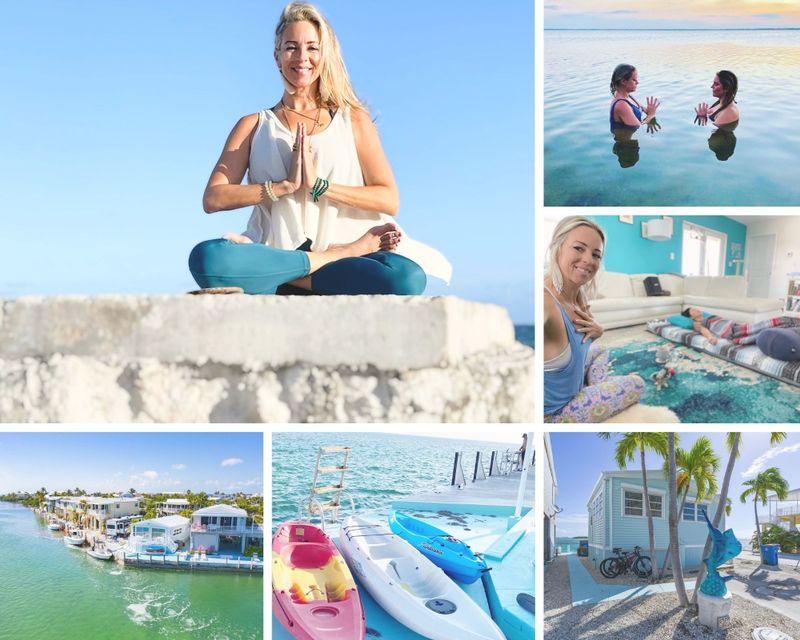 4 Day Luxury Goddess Yoga and Wellness Retreat in Cudjoe Key, Florida