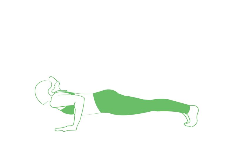 yoga chaturanga pose for weight loss
