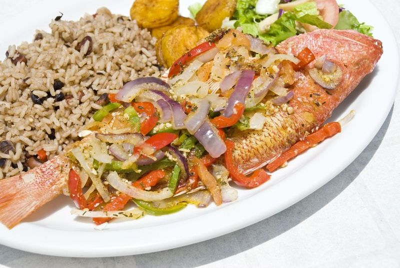 caribbean fried escovitch fish
