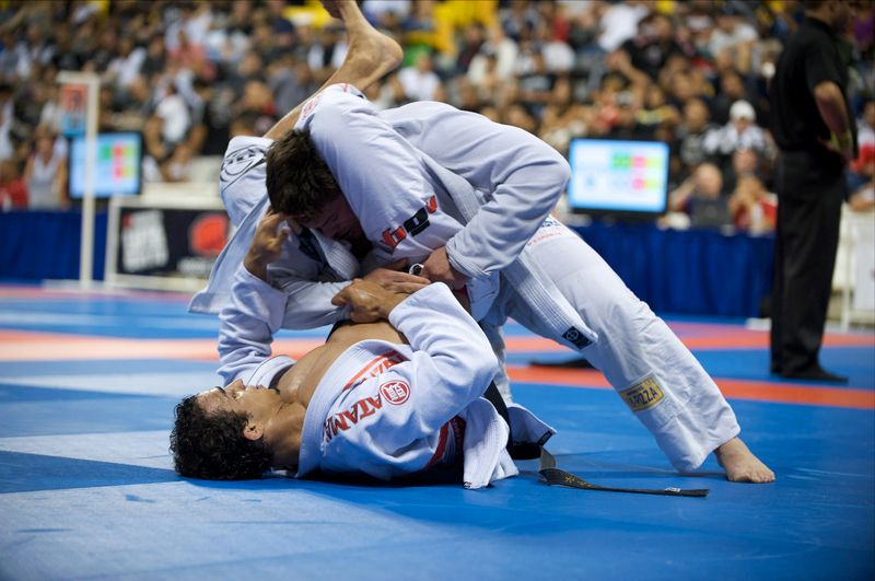 jiu jitsu fight