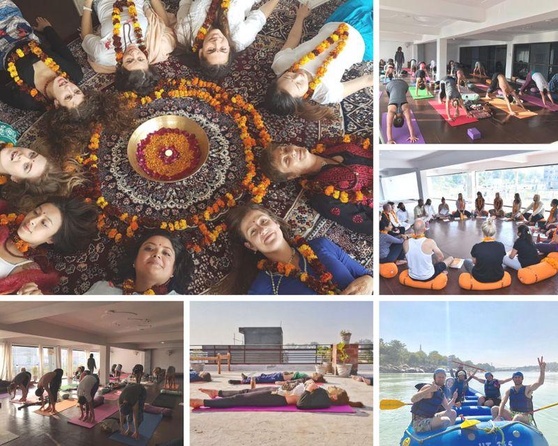 26 day 200 hour YTT with emotional rebalancing in rishikesh india