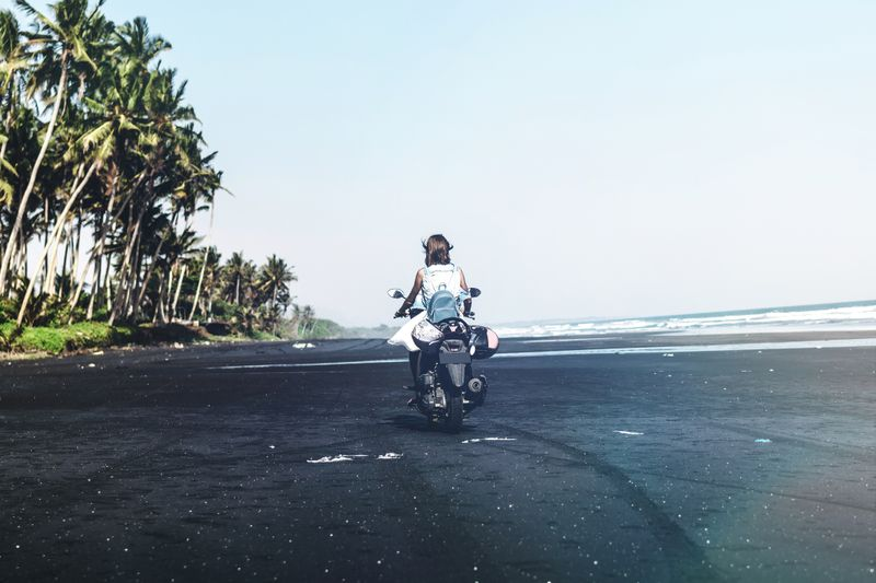 scooter in bali