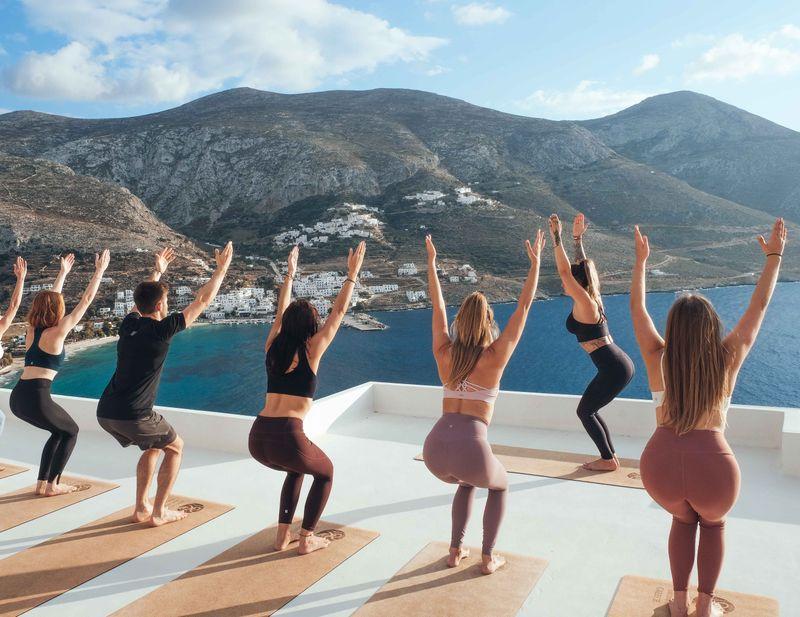 yoga teacher training in greece