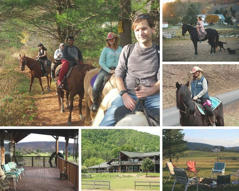Weekend horse riding in the USA - 2 days ranch holiday in Pennsylvania