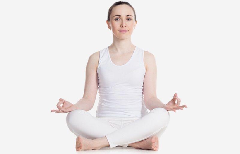 sukhasana yoga pose picture